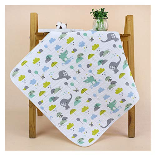 DYKJK Portátil Baby Pañal Cambiando Mat Lavable Travel Travel Mat Mat para el hogar y los Viajes (Color : OUT135 A)