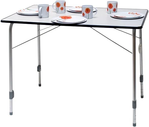 Camp 4 Bergamo 3 de luxe Table de camping 106 x 74 x 7