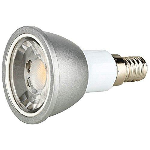 6 Watt LED Strahler Spot 600 Lumen E14 warmweiß Schraubsockel 251