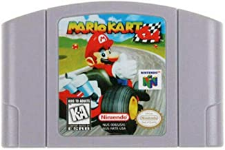 New Mario Kart 64 Video Game Cartridge US Version For Nintendo 64 N64 Game Console