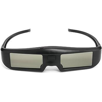 Docooler G06-BT Vetri Otturatori 3D Attivi Occhiali di Realtà Virtuale Segnale BT per HDTV 3D