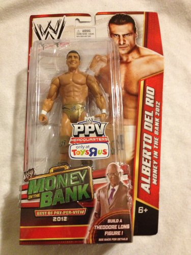 Mattel Alberto Del Rio WWE Best of PPV 2012 Toys R Us Exclusive
