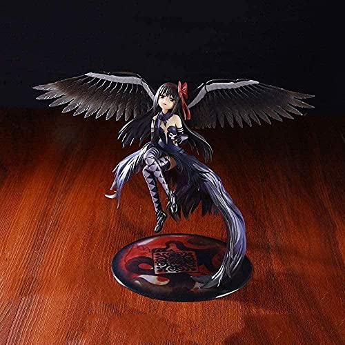 Puella Magi Magical Girl Madoka Magica Akemi Homura Figura de acción Toy Anime Figurine Ornamentos coleccionables