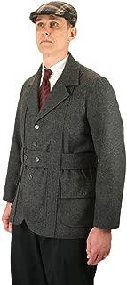 Men's Norfolk Wool Blend Herringbone Tweed Jacket