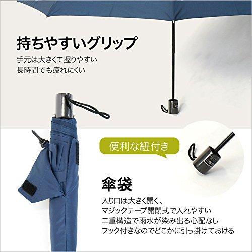 小宮商店『機能いろいろ、風に強い折りたたみ傘』