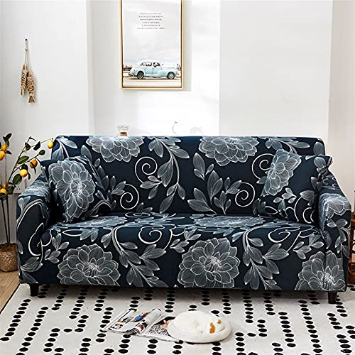 LIWENFU Sofa Cover Elastic Sofa Slipcovers Moderne Sofaabdeckung für Wohnzimmer Sektionale Ecke L-Form Stuhl Protector Couch Cover 1/2/3/4 Sitzer (Color : Color 20, Specification : 1 seat 90 140cm)