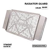 USTPO Cubierta protectora para radiador de motocicleta de acero...