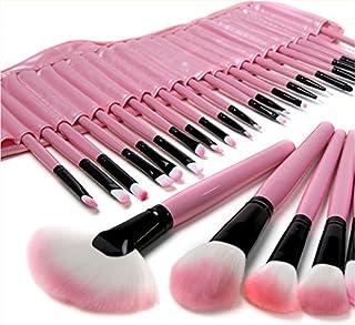 ZJchao 32 Pink Brush MAKE UP Cosmetics Professional Shadow 18 Foundation Powder Blush, make-upborstelset, professionele ma...