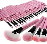 32 brocha de maquillaje, Lote de pinceles de maquillaje rosas,...