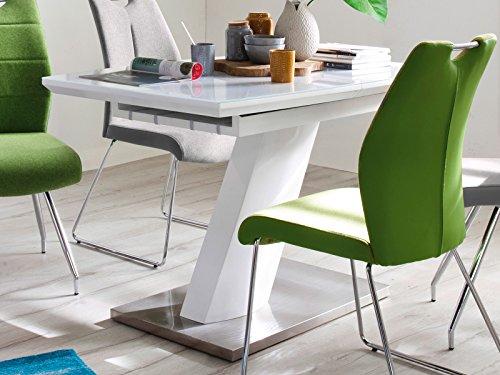 möbelando Esszimmertisch Auszugstisch Holztisch Esstisch Küchentisch Tisch Darrin I 140 cm