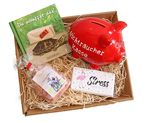 Ideas de Regalo para no Fumadores genéricas. Ayuda a la reconciliación de los Cerdos no Fumadores, Ayuda para no Fumar y para Dejar de Fumar.