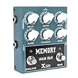 Xvive Memory Delay Analog Delay Guitar Effect Pedal True Bypass