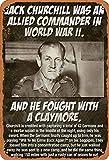 GenericBrands Jack Churchill Was An Allied Commander In World War II Cartel de...