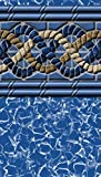 South Beach Pool Liner Above Ground Uni-Bead 12 Ft. x 18 Ft. Oval x 52...