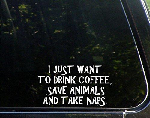 Ik wil gewoon koffie drinken. Bewaar dieren en neem Naps. - 7