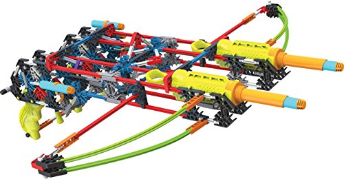 K?NEX K-FORCE Build and Blast - Dual Cross Building Set - 368 Pieces - Ages 8+ - Engineering Education Toy