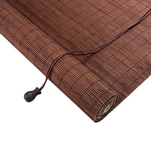 HWL Estor Enrollable Persianas Enrollables Persianas Enrollables de Bambú, Sombras de Rodillos de Filtrado de Luz de Protección UV, para la Oficina de la Habitación Infantil (Size : 100×150cm)