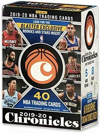 2019 20 Panini CHRONICLES Basketball Blaster Box 40 Total Cards Chase Zion Williamson Ja Morant product image