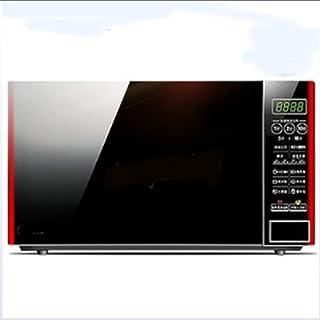 POWER BANKS Horno Eléctrico Horno Tostador con Funciones De Cocción Múltiple Y Grill Temperatura Ajustable Reloj Programador Compacto del Hogar del Horno Microondas De 700 W 20L