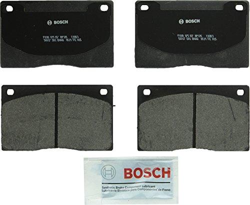Bosch BP135 QuietCast Premium Semi-Metallic Disc Brake Pad Set For Select Aston Martin DB7, Virage; Jaguar Vanden Plas, XJ6, XJ12, XJRS, XJS; Front