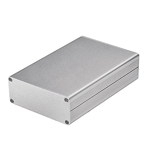 "DIY アルミボックス 小型アルミケース サイズ:4.32""*2.82""*1.13""(L*W*H)デジタルアンプ・電子計測機器・ポータブルヘッドフォンアンプなど自作用"
