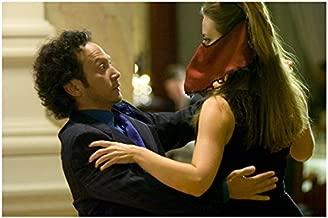 Deuce Bigalow: European Gigolo 8 inch x10 inch Photo Rob Schneider Dancing w/Woman Wearing Scarf on Face kn