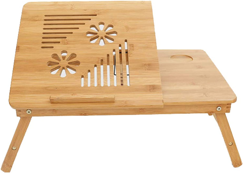 Laptop Desk Bed Bamboo Simple Modern Folding Table Mobile Folding Table