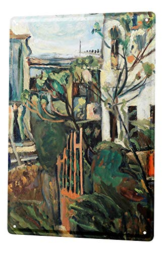 LEotiE SINCE 2004 Blechschild Wandschild 30x40 cm Vintage Retro Metallschild Nostalgie Garten