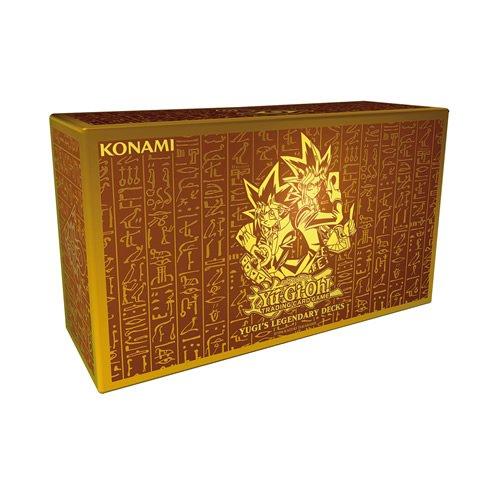 YU-GI-OH! King of Games - Lote de mazos de Cartas legendarias de Yugi