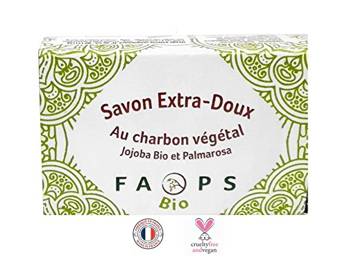 Savon Charbon Végétal Actif 100%...