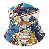 ghjkuyt412 Sword Art Online - Pañuelos de máscara facial para polvo, al aire libre, festivales, deportes