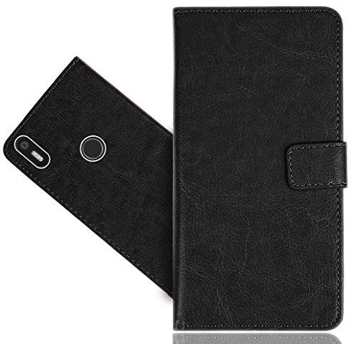BQ Aquaris X5 Plus Handy Tasche, FoneExpert® Wallet Hülle Flip Cover Hüllen Etui Hülle Premium Ledertasche Lederhülle Schutzhülle Für BQ Aquaris X5 Plus