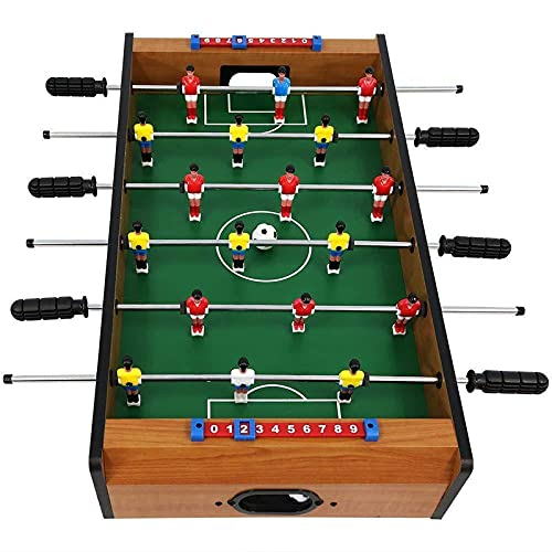 Home Cloud Foosball Table Game / Football Table Game Board Game / Lightweight Table Top Version Outdoor, Home, Office Fun. [1 pc 6 Rods] Size 69cm(69X37X24cm)