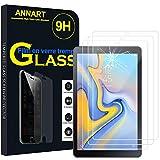 AnnaRT® - 3 protectores de pantalla de cristal templado para Samsung Galaxy Tab A 10.5 (2018) SM-T590/T595 de 10,5', transparente
