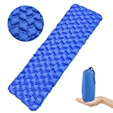 <span class='highlight'><span class='highlight'>IREGRO</span></span> Camping Mat,Ultralight Waterproof Inflatable Sleeping Mat Camping Mattress Compact and Moistureproof Folding Inflating Single Bed for Backpacking,Camping,Hiking,Tent