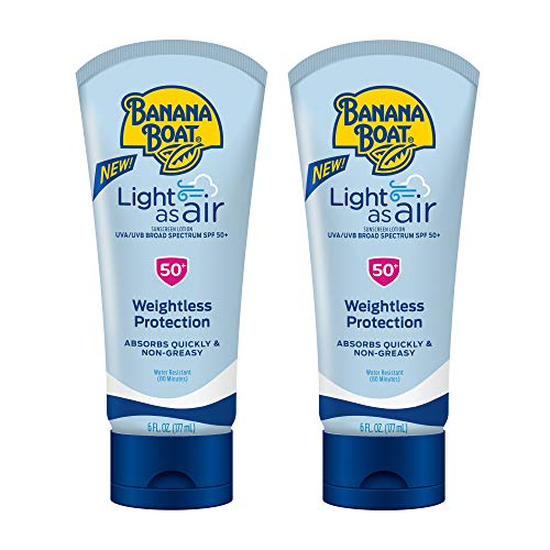 Banana Boat Light As Air Reef Friendly Sunscreen Lotion
