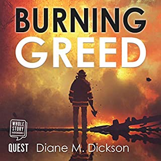 Burning Greed audiobook cover art
