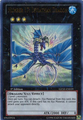Yu-Gi-Oh! - Number 17: Leviathan Dragon (GENF-EN039) - Generation Force - 1st Edition - Ultra Rare