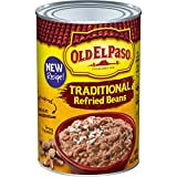 Old El Paso Traditional Refried Beans, 16 oz...