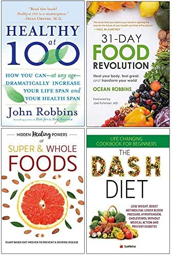 Healthy at 100 31 Day Food Revolution Hidden Healing Powers of Super Whole Foods The Dash Diet product image
