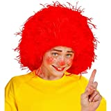 NET TOYS Kinder Clown Perücke Rote Wuschel Haarperücke rot Kinderperücke Pumuckel Frechdachs Faschingsperücke Clownperücke Kindergeburtstag Kostüm Zubehör Kinderfaschingsperücke