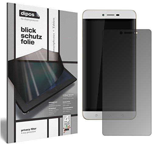 dipos I Blickschutzfolie matt kompatibel mit Coolpad Torino R108 Sichtschutz-Folie Bildschirm-Schutzfolie Privacy-Filter