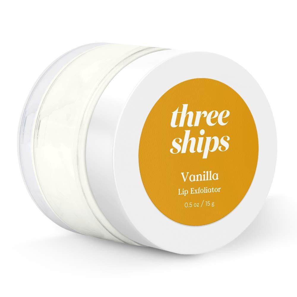 Three Ships Vanilla Lip Over item Outlet sale feature handling Exfoliator Polish Moi – Vegan