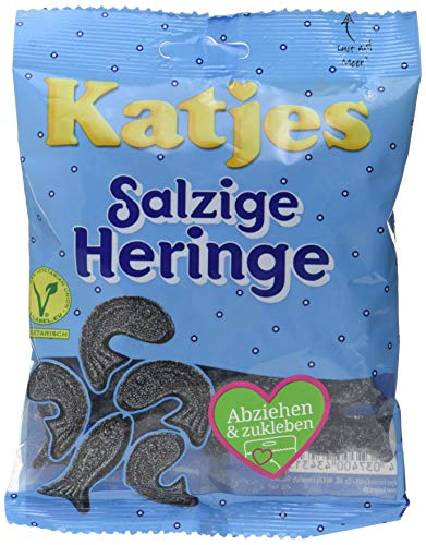 Katjes Salzige Heringe 200 g Beutel