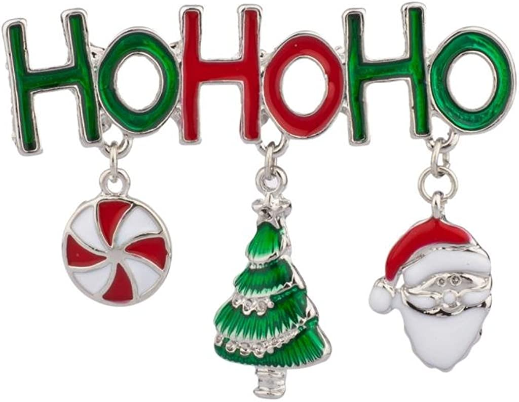 LUX ACCESSORIES Ho Merry Christmas Claus Xmas Indefinitely Candy Spasm price Santa