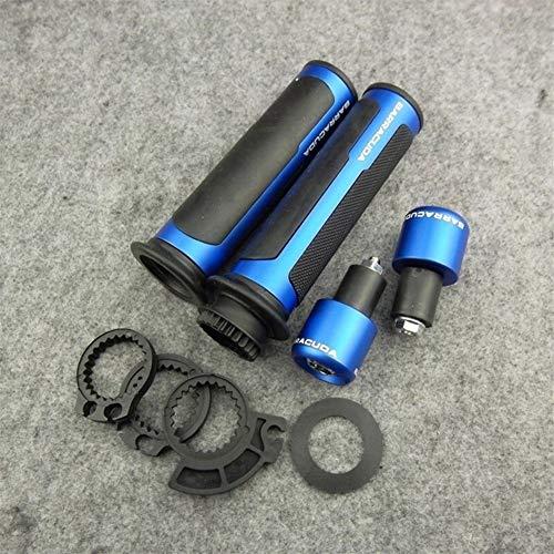 ACEACE Mango Grips Motocicleta 22mm (Color : Blue)