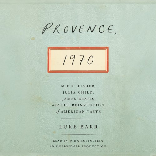 Provence, 1970 audiobook cover art