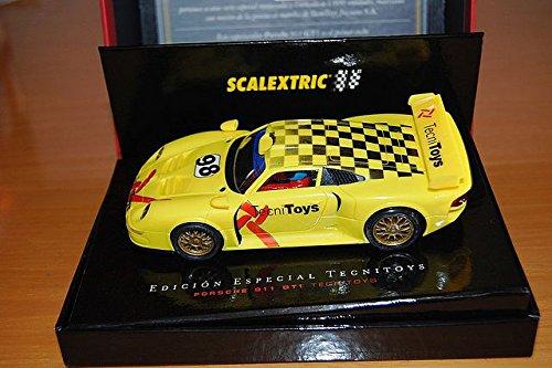 Scalextric Coche 911 GT1. 6018. Edicion Conmemorativa del Inicio de la Marca Tecnitoys. Edicion Limitada y numerada