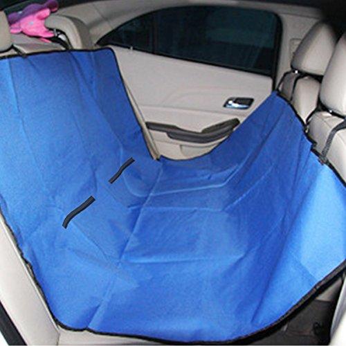 SymbolLife wasserdicht Auto-Abdeckung für Hunde Autositz Autositzdecke Hundedecke Autoschondecke für Katzen Hunde 140*145cm Blau