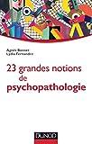 23 grandes notions de psychopathologie - Enfant, adolescent, adulte